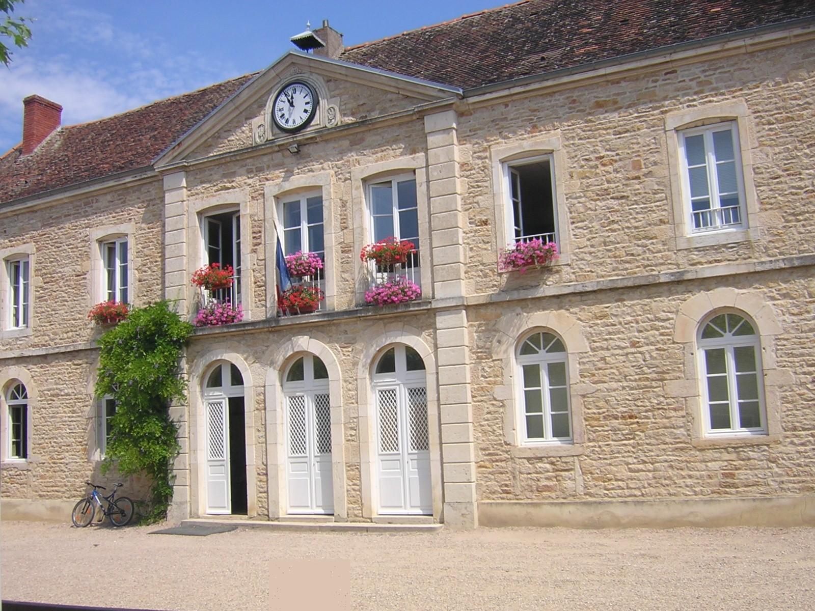 photo de l'école de st Ambreuil